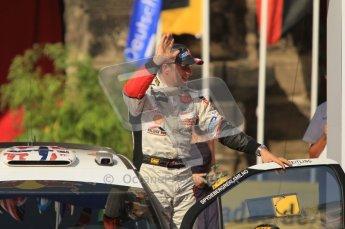 © North One Sport Ltd.2011/Octane Photographic Ltd. WRC Germany – Final Podium - Sunday 21st August 2011. Petter Solberg - Citroen DS3 WRC. Digital Ref : 0153CB1D6339