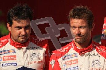 © North One Sport Ltd.2011/Octane Photographic Ltd. WRC Germany – Final Podium - Sunday 21st August 2011. Sebastien Loeb and Daniel Elena (Citroen). Digital Ref : 0153LW7D0150