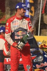 © North One Sport Ltd.2011/Octane Photographic Ltd. WRC Germany – Final Podium - Sunday 21st August 2011. Daniel Sordo. Digital Ref : 0153LW7D0207