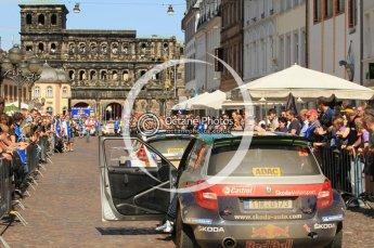 © North One Sport Ltd.2011/Octane Photographic Ltd. WRC Germany – SS19 - Circus Maximus - Sunday 21st August 2011. Digital Ref : 0152CB1D6223