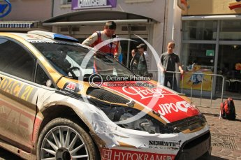 © North One Sport Ltd.2011/Octane Photographic Ltd. WRC Germany – SS19 - Circus Maximus - Sunday 21st August 2011. Digital Ref : 0152CB7D0685