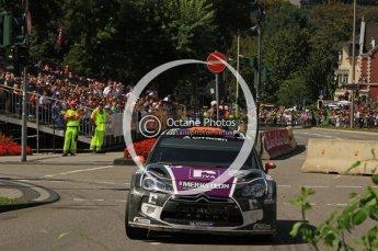 © North One Sport Ltd.2011/Octane Photographic Ltd. WRC Germany – SS19 - Circus Maximus - Sunday 21st August 2011. Digital Ref : 0152LW7D0254