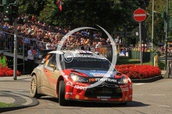 © North One Sport Ltd.2011/Octane Photographic Ltd. WRC Germany – SS19 - Circus Maximus - Sunday 21st August 2011. Digital Ref : 0152LW7D0530