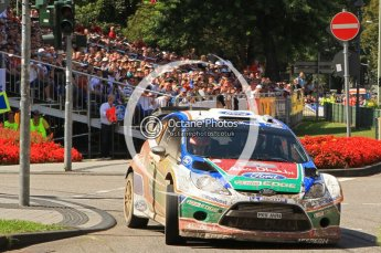 © North One Sport Ltd.2011/Octane Photographic Ltd. WRC Germany – SS19 - Circus Maximus - Sunday 21st August 2011. Digital Ref : 0152LW7D0582