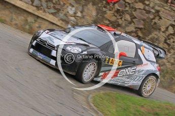 © North One Sport Ltd.2011/Octane Photographic Ltd. WRC Germany – SS3 - Moselland I - Friday 19th August 2011, Kimi Raikkonen'Kaj Lindstrom, Citroen DS3 WRC. Digital Ref : 0148CB1D4713