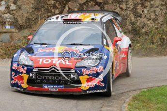 © North One Sport Ltd.2011/Octane Photographic Ltd. WRC Germany – SS3 - Moselland I - Friday 19th August 2011, Sebastien Loeb/Daniel Elena, Citroen DS3 WRC. Digital Ref : 0148LW7D0077