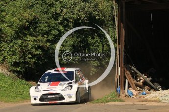 © North One Sport Ltd.2011/Octane Photographic Ltd. WRC Germany – SS9 - Birkenfelder Land I - Saturday 20th August 2011. Digital Ref : 0150CB1D5404