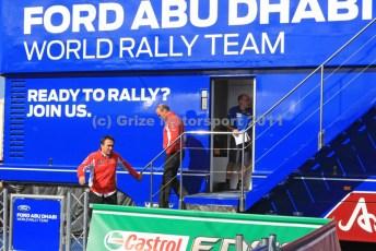 © Grize Motorsport 2011. WRC Portugal. Out of the lions' den. Digital Ref : 0048cam11375