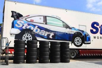 © Grize Motorsport 2011. WRC Portugal. Well tyres stobart. Digital Ref : cam11385