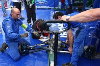 © Grize Motorsport 2011. WRC Portugal. Mikko rear transmission unit. Digital Ref : 0048img_8274