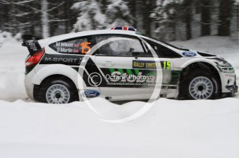 © North One Sport Limited 2011/Octane Photographic Ltd. 2011 WRC Sweden shakedown stage, Thursday 10th February 2011. Digital ref : 0126LW7D8258