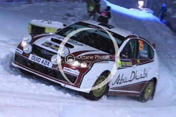 © North One Sport Ltd.2011/ Octane Photographic Ltd.2011. WRC Sweden SS1 Karlstad Arena Super Special, Thursday 10th February 2011. Digital ref : 0139LW7D8437