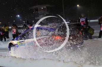 © North One Sport Ltd.2011/ Octane Photographic Ltd.2011. WRC Sweden SS1 Karlstad Arena Super Special, Thursday 10th February 2011. Digital ref : 0139LW7D8495