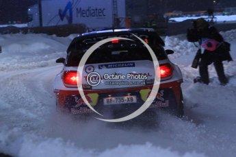 © North One Sport Ltd.2011/ Octane Photographic Ltd.2011. WRC Sweden SS1 Karlstad Arena Super Special, Thursday 10th February 2011, Sebastien Loeb/Daniel Elena, Citroen DS3 WRC. Digital ref : 0139LW7D8573