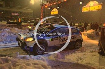 © North One Sport Ltd.2011/ Octane Photographic Ltd.2011. WRC Sweden SS1 Karlstad Arena Super Special, Thursday 10th February 2011. Digital ref : 0139CB5D8577