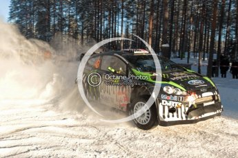©  North One Sport Limited 2011/Octane Photographic. 2011 WRC Sweden SS10 Fredericksberg, Saturday 12th February 2011. Digital ref : 0142CB1D7399