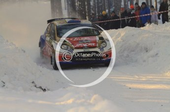 ©  North One Sport Limited 2011/Octane Photographic. 2011 WRC Sweden SS10 Fredericksberg, Saturday 12th February 2011. Digital ref : 0142LW7D8979
