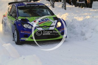 ©  North One Sport Limited 2011/Octane Photographic. 2011 WRC Sweden SS10 Fredericksberg, Saturday 12th February 2011. Digital ref : 0142LW7D8999