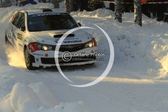 ©  North One Sport Limited 2011/Octane Photographic. 2011 WRC Sweden SS10 Fredericksberg, Saturday 12th February 2011. Digital ref : 0142LW7D9006