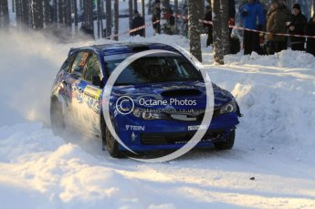 ©  North One Sport Limited 2011/Octane Photographic. 2011 WRC Sweden SS10 Fredericksberg, Saturday 12th February 2011. Digital ref : 0142LW7D9013