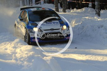 ©  North One Sport Limited 2011/Octane Photographic. 2011 WRC Sweden SS10 Fredericksberg, Saturday 12th February 2011. Digital ref : 0142LW7D9029