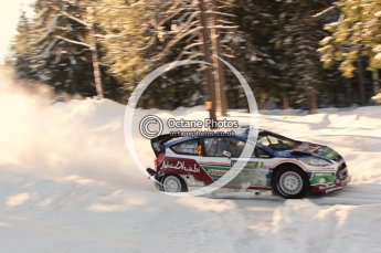 © North One Sport Limited 2011/Octane Photographic. 2011 WRC Sweden SS12 Lechfors II, Saturday 12th February 2011. Digital ref : 0143CB1D7563