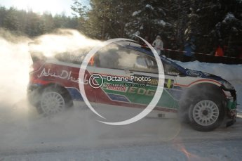 ©  North One Sport Limited 2011/Octane Photographic. 2011 WRC Sweden SS5 Vargassen lI, Friday 11th February 2011. Digital ref : 0141CB1D6977