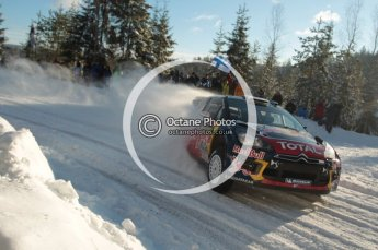 ©  North One Sport Limited 2011/Octane Photographic. 2011 WRC Sweden SS5 Vargassen lI, Friday 11th February 2011. Digital ref : 0141CB1D6991