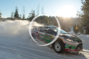 ©  North One Sport Limited 2011/Octane Photographic. 2011 WRC Sweden SS5 Vargassen lI, Friday 11th February 2011. Digital ref : 0141CB1D7065