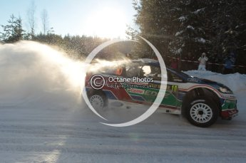 ©  North One Sport Limited 2011/Octane Photographic. 2011 WRC Sweden SS5 Vargassen lI, Friday 11th February 2011. Digital ref : 0141CB1D7067
