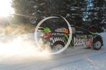 ©  North One Sport Limited 2011/Octane Photographic. 2011 WRC Sweden SS5 Vargassen lI, Friday 11th February 2011. Digital ref : 0141CB1D7129