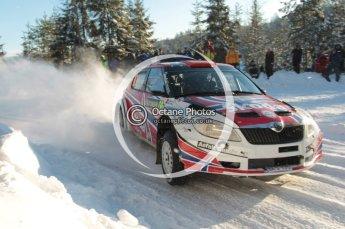 ©  North One Sport Limited 2011/Octane Photographic. 2011 WRC Sweden SS5 Vargassen lI, Friday 11th February 2011. Digital ref : 0141CB1D7137