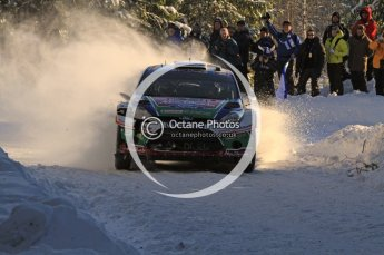 ©  North One Sport Limited 2011/Octane Photographic. 2011 WRC Sweden SS5 Vargassen lI, Friday 11th February 2011. Digital ref : 0141LW7D8749