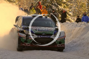 ©  North One Sport Limited 2011/Octane Photographic. 2011 WRC Sweden SS5 Vargassen lI, Friday 11th February 2011. Digital ref : 0141LW7D8751