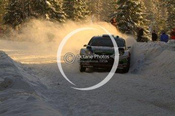 ©  North One Sport Limited 2011/Octane Photographic. 2011 WRC Sweden SS5 Vargassen lI, Friday 11th February 2011. Digital ref : 0141LW7D8770