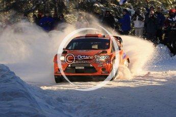 ©  North One Sport Limited 2011/Octane Photographic. 2011 WRC Sweden SS5 Vargassen lI, Friday 11th February 2011. Digital ref : 0141LW7D8779