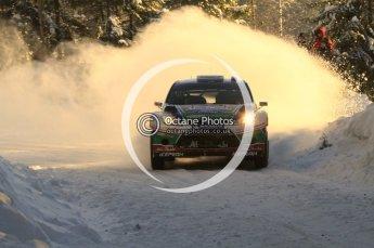©  North One Sport Limited 2011/Octane Photographic. 2011 WRC Sweden SS5 Vargassen lI, Friday 11th February 2011. Digital ref : 0141LW7D8803
