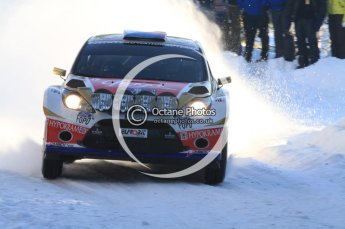©  North One Sport Limited 2011/Octane Photographic. 2011 WRC Sweden SS5 Vargassen lI, Friday 11th February 2011. Digital ref : 0141LW7D8814