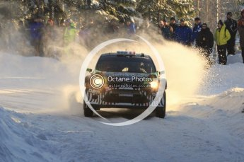 ©  North One Sport Limited 2011/Octane Photographic. 2011 WRC Sweden SS5 Vargassen lI, Friday 11th February 2011. Digital ref : 0141LW7D8832