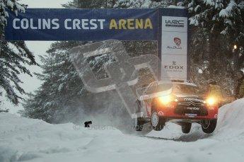 © North One Sport Ltd.2011/ Octane Photographic Ltd.2011. WRC Sweden SS2 Vargassen l (Colin's Crest), Friday 11th February 2011. Digital ref : 0140CB1D6828