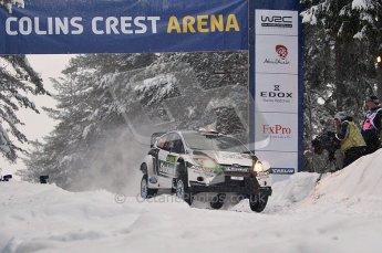 © North One Sport Ltd.2011/ Octane Photographic Ltd.2011. WRC Sweden SS2 Vargassen l (Colin's Crest), Friday 11th February 2011. Digital ref : 0140CB1D6843