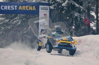 © North One Sport Ltd.2011/ Octane Photographic Ltd.2011. WRC Sweden SS2 Vargassen l (Colin's Crest), Friday 11th February 2011. Digital ref : 0140CB1D6866