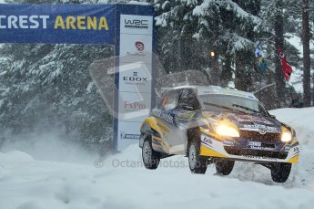 © North One Sport Ltd.2011/ Octane Photographic Ltd.2011. WRC Sweden SS2 Vargassen l (Colin's Crest), Friday 11th February 2011. Digital ref : 0140CB1D6884