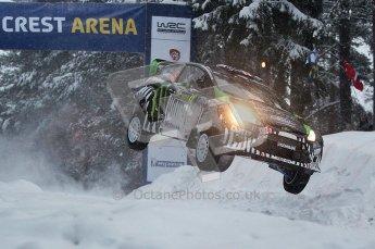 © North One Sport Ltd.2011/ Octane Photographic Ltd.2011. WRC Sweden SS2 Vargassen l (Colin's Crest), Friday 11th February 2011. Digital ref : 0140CB1D6887