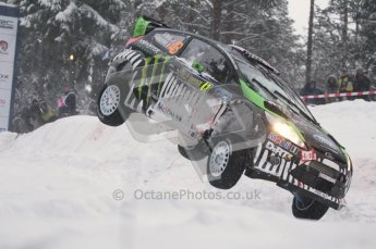 © North One Sport Ltd.2011/ Octane Photographic Ltd.2011. WRC Sweden SS2 Vargassen l (Colin's Crest), Friday 11th February 2011. Digital ref : 0140CB1D6889