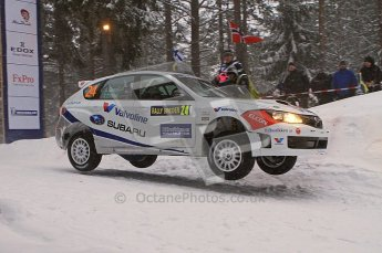 © North One Sport Ltd.2011/ Octane Photographic Ltd.2011. WRC Sweden SS2 Vargassen l (Colin's Crest), Friday 11th February 2011. Digital ref : 0140LW7D8672