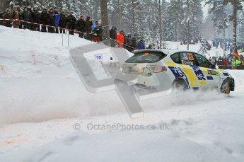 © North One Sport Ltd.2011/ Octane Photographic Ltd.2011. WRC Sweden SS2 Vargassen l (Colin's Crest), Friday 11th February 2011. Digital ref : 0140LW7D8679