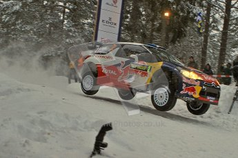 © North One Sport Ltd.2011/ Octane Photographic Ltd.2011. WRC Sweden SS2 Vargassen l (Colin's Crest), Friday 11th February 2011. Digital ref : 0140LW7D8620
