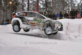 © North One Sport Ltd.2011/ Octane Photographic Ltd.2011. WRC Sweden SS2 Vargassen l (Colin's Crest), Friday 11th February 2011. Digital ref : 0140LW7D8637