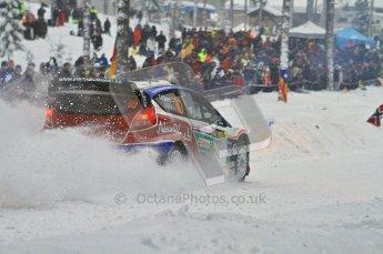 © North One Sport Ltd.2011/ Octane Photographic Ltd.2011. WRC Sweden SS2 Vargassen l (Colin's Crest), Friday 11th February 2011. Digital ref : 0140LW7D8641